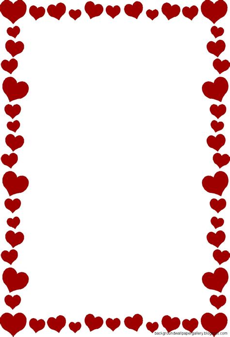 valentines day border clip gallery for gt s day clipart borders