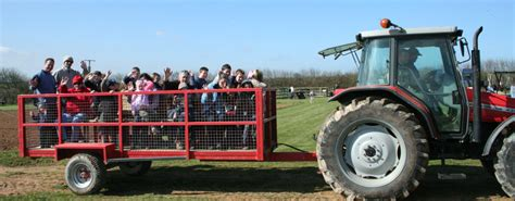 Ride On Kiddieland 51060 Farm Friends Activity Tractor T1310 1 farm activities trevathan farm cornwall