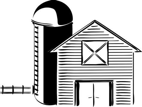 scheune icon schwarz wei 223 scheune 183 kostenlose vektorgrafik auf pixabay