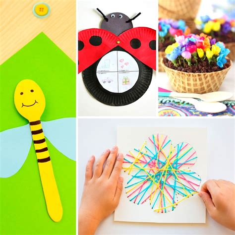 spring projects 20 fun and adorable spring crafts for kids mum in the