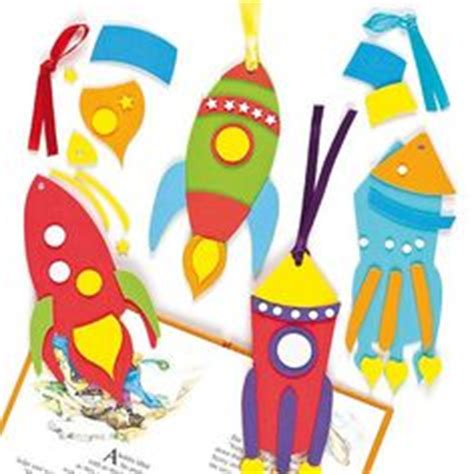 printable rocket bookmarks space moon on pinterest space crafts aliens and rockets