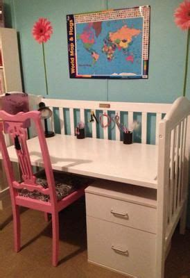 When Do You Convert A Crib To A Toddler Bed 25 Best Ideas About Crib Desk On Pinterest Cradle Bedding Crib Sale And Repurposing Crib