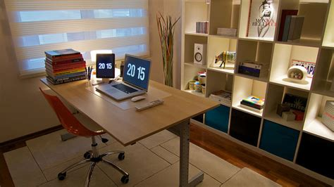 home design software lifehacker a backlit bookcase and a simple desk lifehacker australia