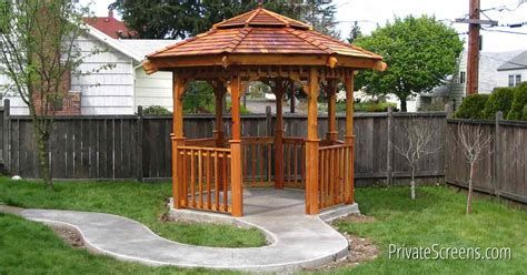 transform backyard gazebo kits transform your backyard in an afternoon
