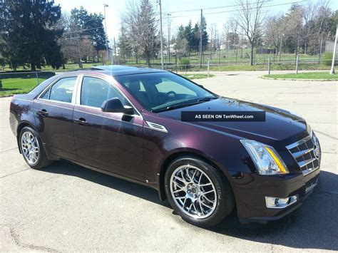 2008 Cts Cadillac by 2008 Cadillac Cts Awd Performance Pkg Sharp