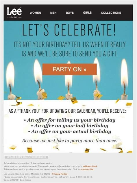 17 Best Images About Emails Birthday On Pinterest Newsletter Design Email Newsletters And Birthday Newsletter Template Free