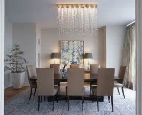 Modern Chandeliers Above Round Glass Table Living Room Pinterest » Ideas Home Design