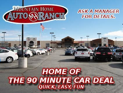 mountain home auto ranch car dealership in mountain home