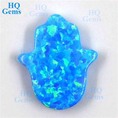 Blue Opal 01 handvorm opaal edelstenen blauwe opaal steen prijzen losse