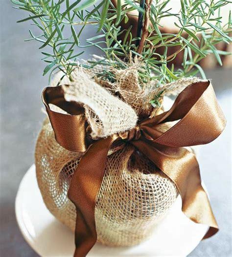tischdeko weihnachten jute basteln mit naturmaterialien 30 coole herbst deko ideen