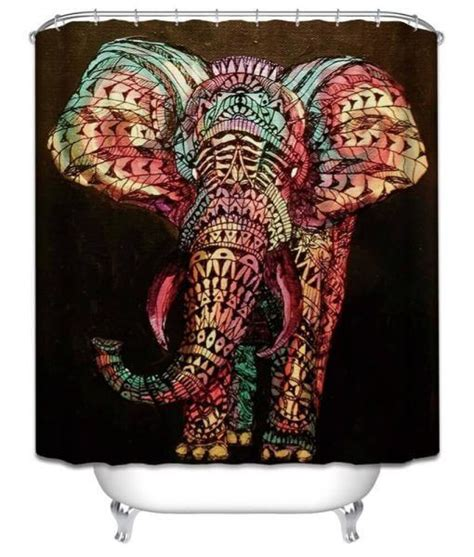 Elephant Bathroom Decor by Elephant Shower Curtain Elephant Bathroom Decor On Sale