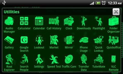 fallout themes for android pipboy 3000 fallout 3 theme apk for android aptoide