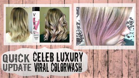 viral light pink shoo update celeb luxury viral colorwash part 2 pastel