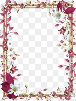 design bolder bunga border frame png images vectors and psd files free