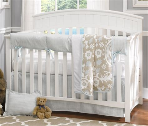 houndstooth crib bedding liz roo powder blue houndstooth 4 crib bedding set