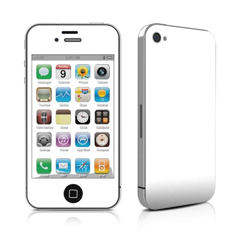 Skin Your Iphone With Decalgirl by Iphone 4 Skin Solid State White By Solid Colors Decalgirl
