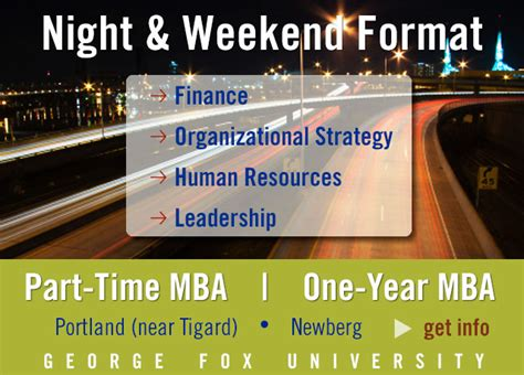 George Fox Time Mba by Mba In Health Care Mba Portland Guide