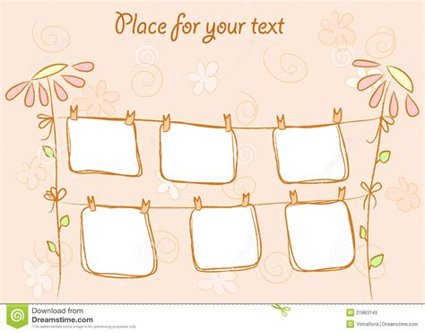 doodle frame vector free abstract doodle frames vector royalty free stock photo