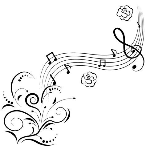 Musical Coloring Pages free printable note coloring pages for