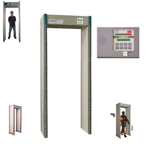 garrett pd 6500i walk through metal detector ebay