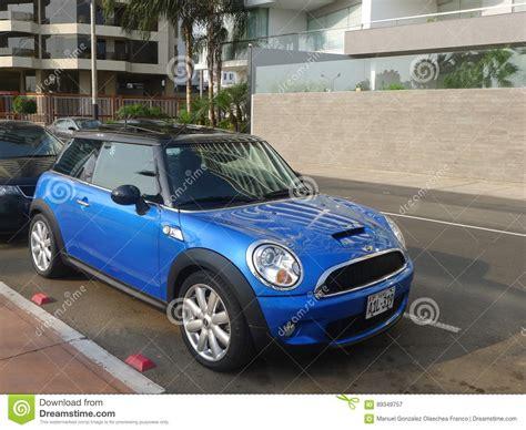 Mini Cooper Mc03 Black Blue B mini cooper s blue and black in barranco lima editorial