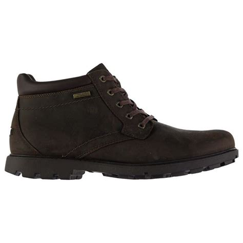 rockport boots mens waterproof rockport mens surge plain toe boots lace up shock