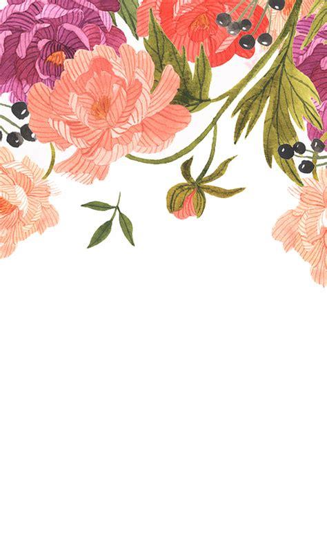wallpaper flower simple iphone samsung wallpaper simple floral creative