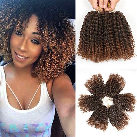 crochet braids for sale amazon com 8 inch short marlybob crochet hair 6 packs