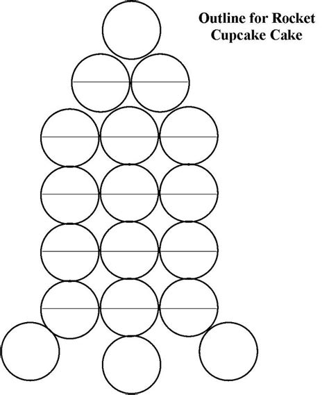 Pull Apart Cake Templates 418 best images about cupcake cakes on pull