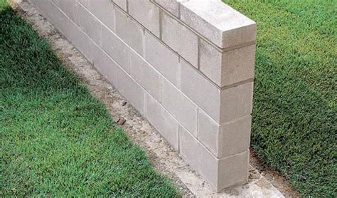 How to Build a Concrete Block Wall   Today's Homeowner