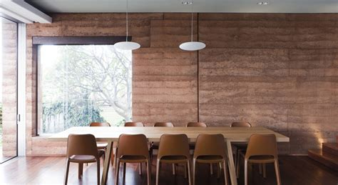 beauty  rammed earth sustainable building design