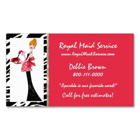 House Cleaning Business Cards Ideas