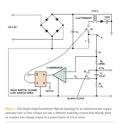 flyback output diode voltage flyback transformers and converter efficiency