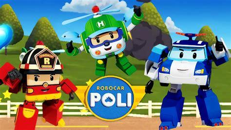 Robocar Poli Car Park rabia sensei adam and robocar poli