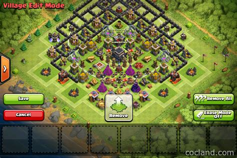 home base th 9 terbaik november 2016 berti s teaser th9 base for pushing trophy clash of