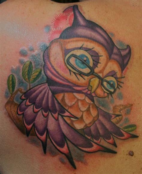 tattoo owl cartoon cartoon owl tattoos old age owl tattoo animal tattoos