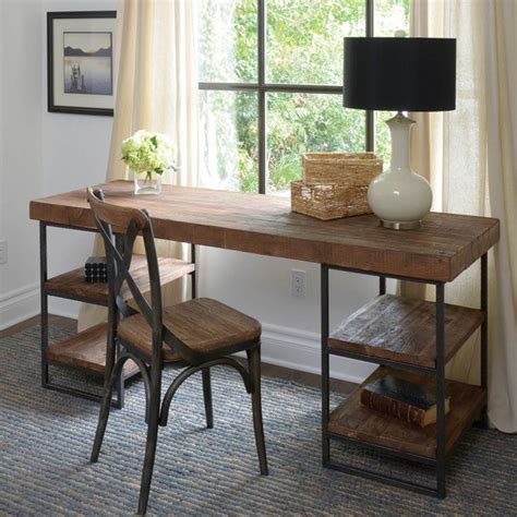 Office Desk Ideas Pinterest Best Reclaimed Wood Desk Ideas On Pinterest L Desk Rustic Design 42 Wood Desk Office