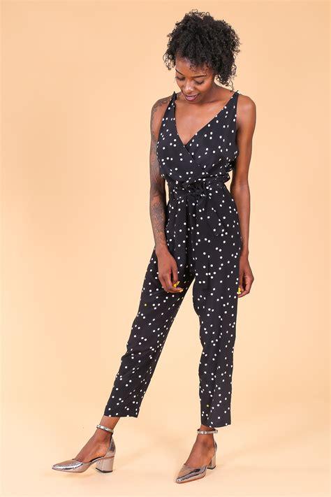 Jumpsuit Smilee Polkadot no 6 jumpsuit in black polka dots garmentory