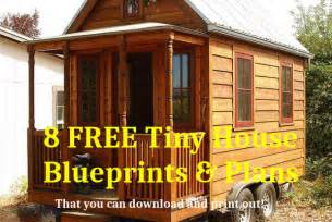 Tiny House On Wheels Plans Free Tiny House Plans Free To Download Amp Print 8 Tiny House