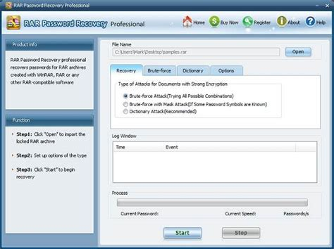 best rar password recovery top 5 rar password crackers recovery software for window pc