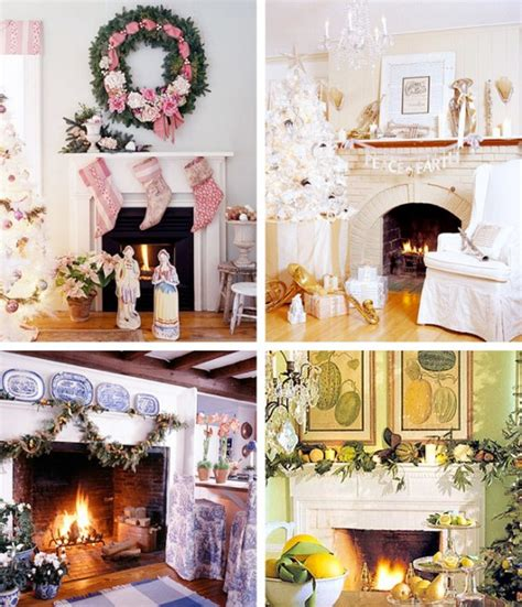 fireplace christmas decorations ideas 33 mantel christmas decorations ideas digsdigs