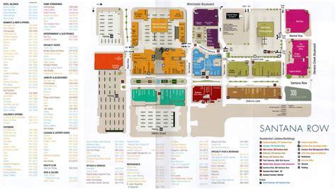 oakridge mall san jose map of stores santana row a shopping adventure bigmallrat shopping
