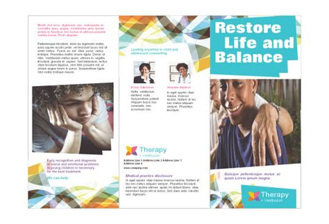 Today S News Free Mental Health Brochures Free Mental Health Flyer Template
