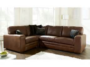 sofa kunstleder brown leather corner sofa the sofa company