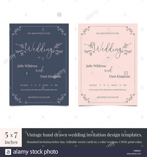 Wedding Vs Marriage On Invitation