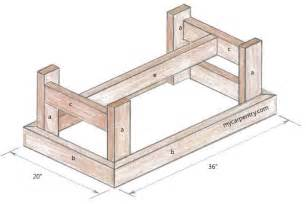 Plans For Building A Coffee Table Simple Coffee Table Plans Diywoodtableplans