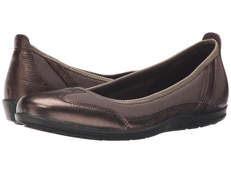 ecco shoes sale ecco bluma summer ballerina womens licorice metallic ecco