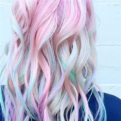 pastel hair color 21 pastel hair color ideas for 2018 stayglam page 2