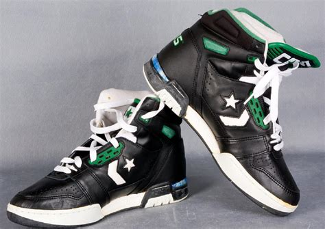 larry bird basketball shoes sports auctions