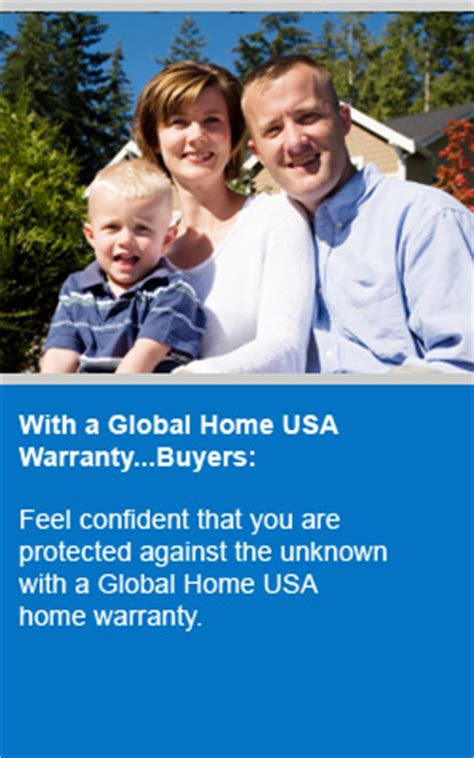 global home usa warranty covers major operating systems
